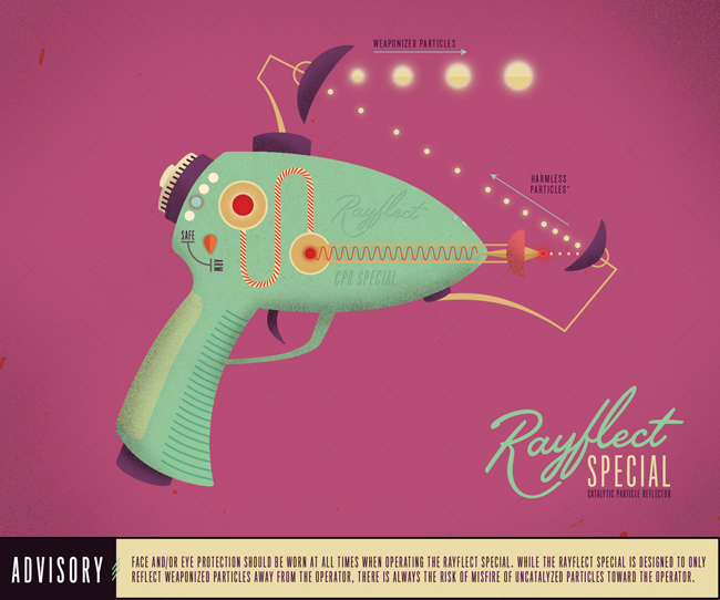 Raygun 52 - Catalytic Particle Reflector