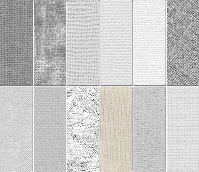 Subtle Photoshop Patterns - Artist's Canvas Texture Patterns