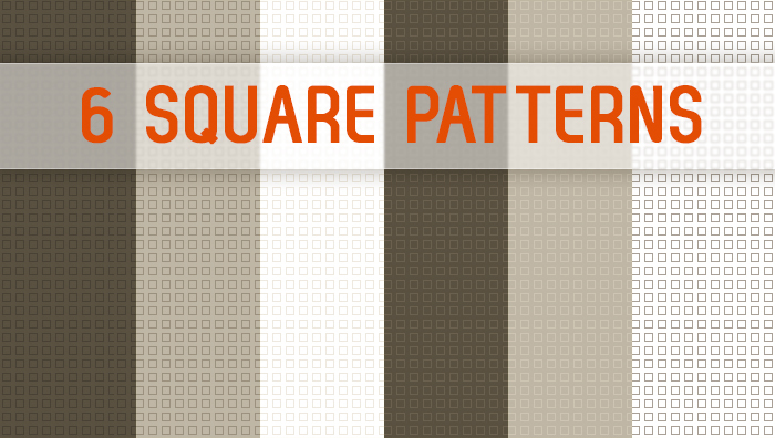Subtle Photoshop Patterns - Square Patterns