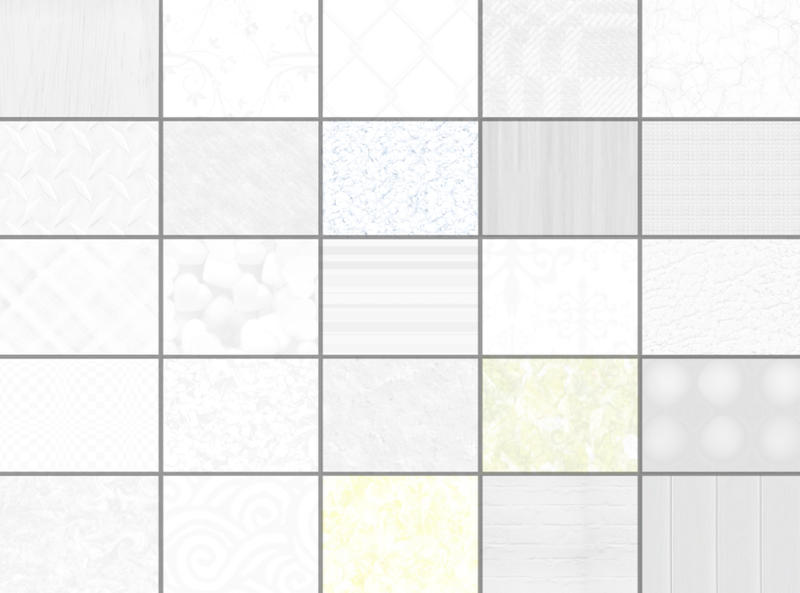 Subtle Photoshop Patterns - White Background Texture Patterns