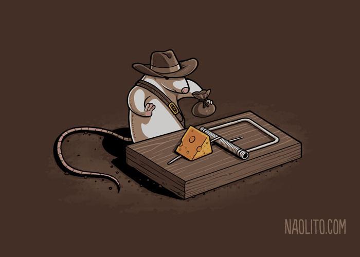 Naolito - Indiana Mouse