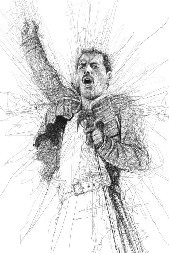 Vince Low - Music Legend - Freddie Mercury