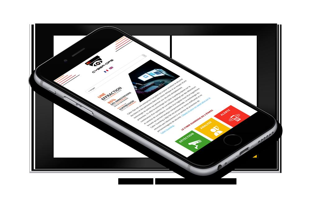 iPhone 6 Mockup - Cyber-Ops