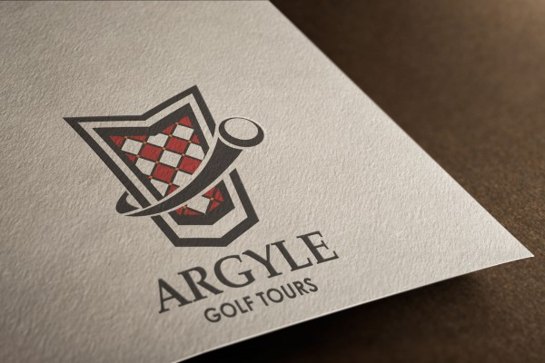Logo Mockup - Argyle Golf Tours