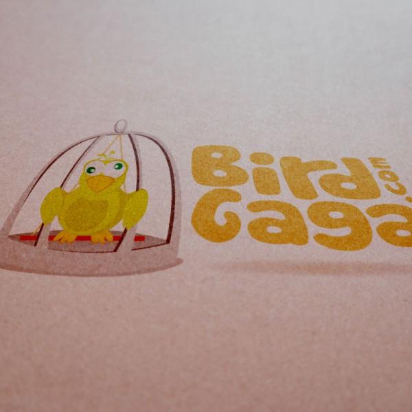 Logo Mockup - Bird Gaga
