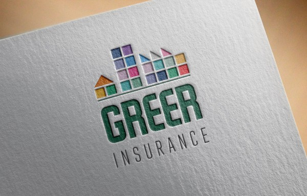 Logo Mockup - Greer Insurance