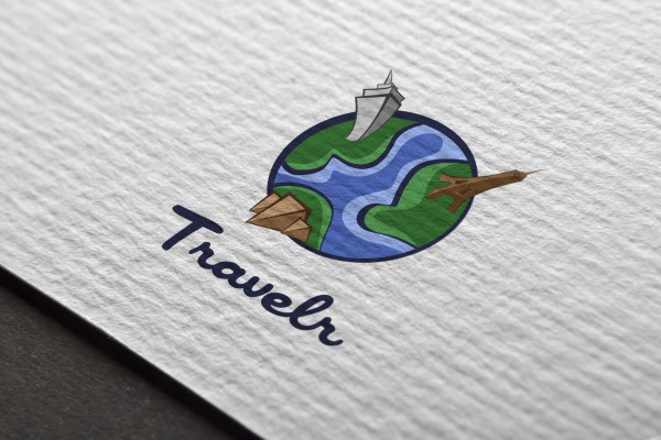 Logo Mockup - Travler