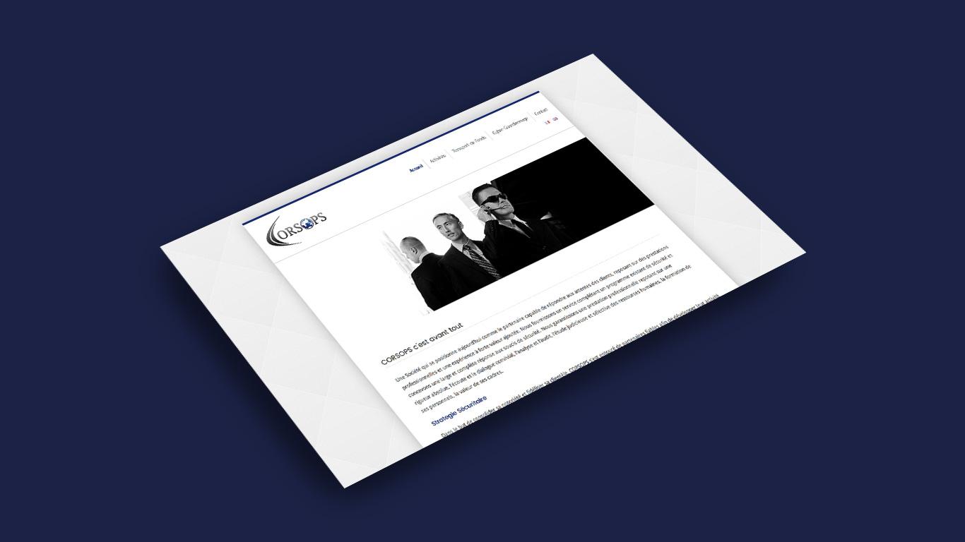 Main Page Mockup - Corsops