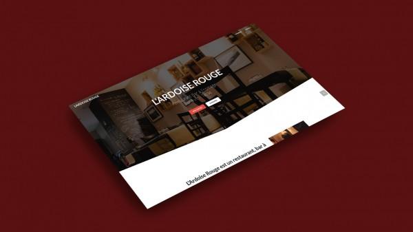 Main Page Mockup - l'Ardoise Rouge