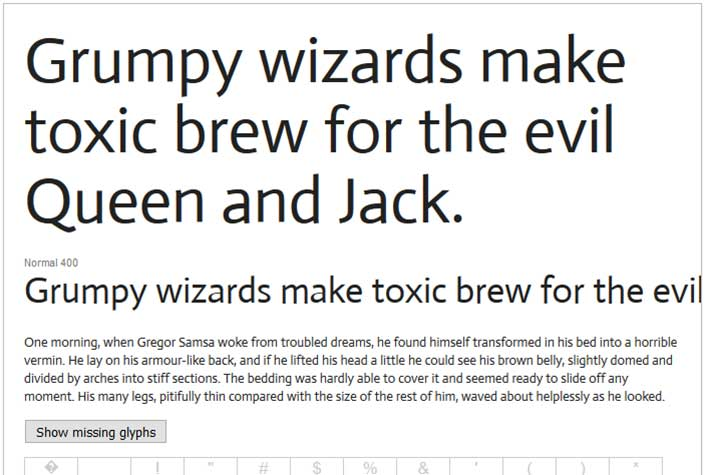 Best Free Google Web Fonts - Actor