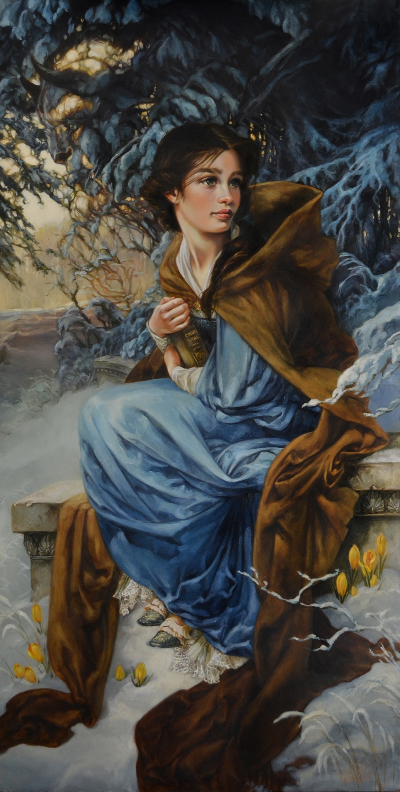 Heather Theurer Disney Characters - Beauty and the Beast