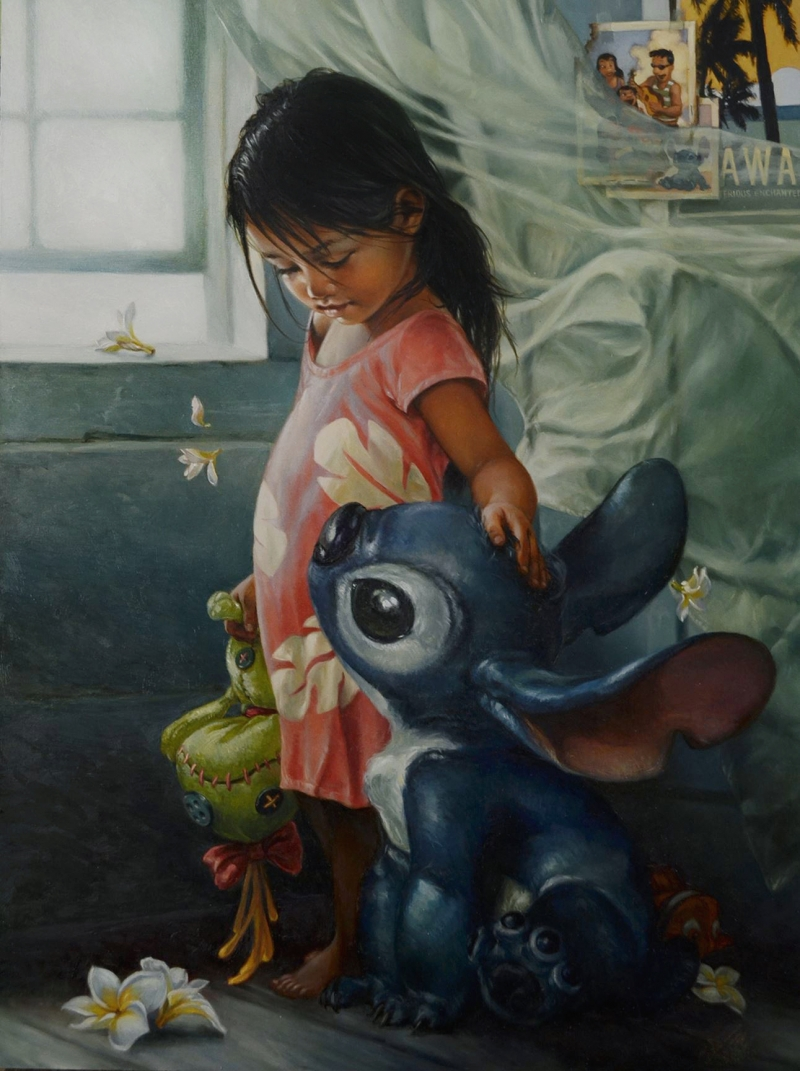 Heather Theurer Disney Characters - Lilo and Stitch