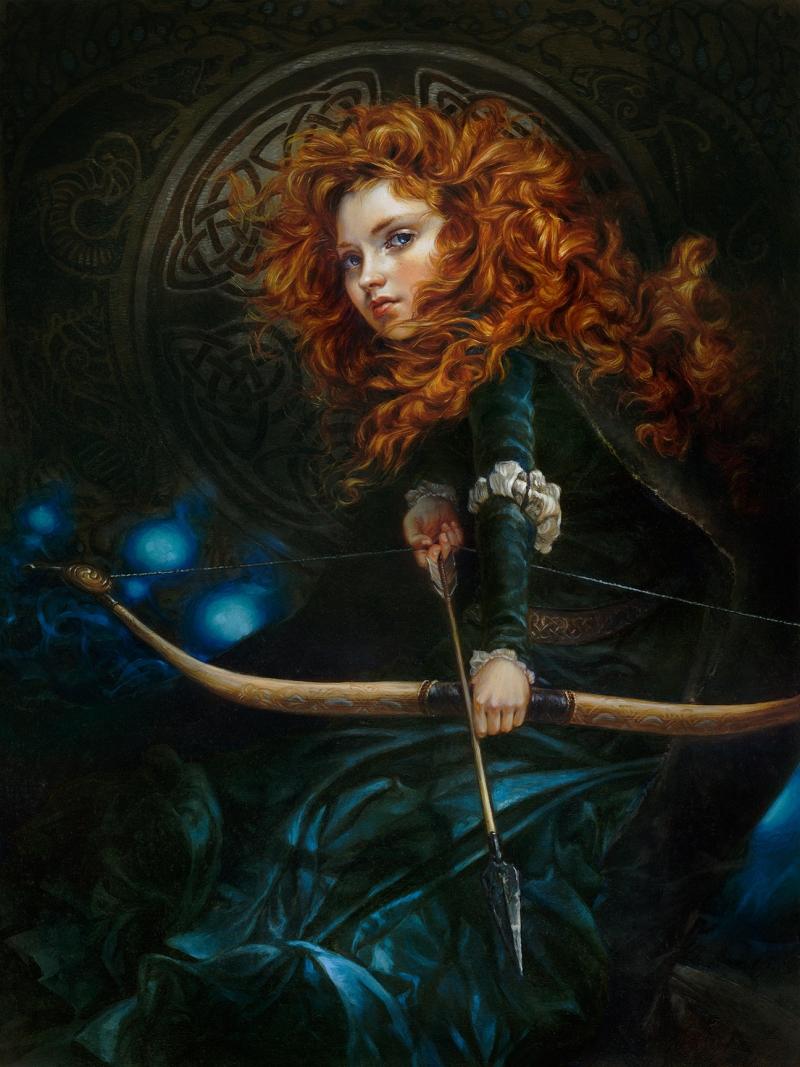 Heather Theurer Disney Characters - Merida