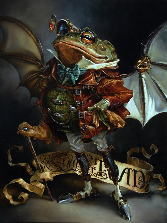 Heather Theurer Disney Characters - Mr Toad