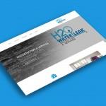 Main Page Mockup - H2O Détection et Services