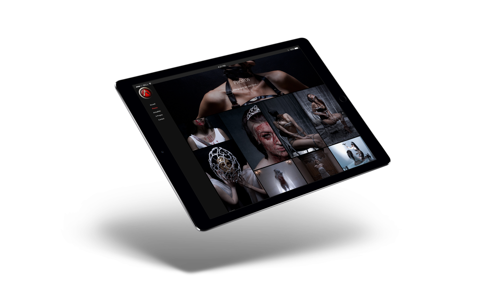 iPad Air 2 Mockup - Acqualeni Photography