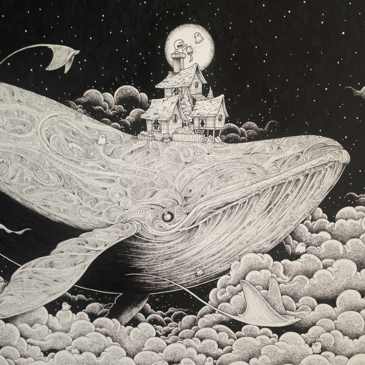Kerby Rosanes Night Whale