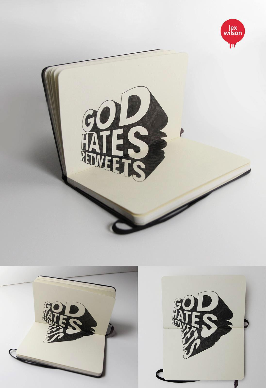 Amazing 3D Typography - Lex Wilson