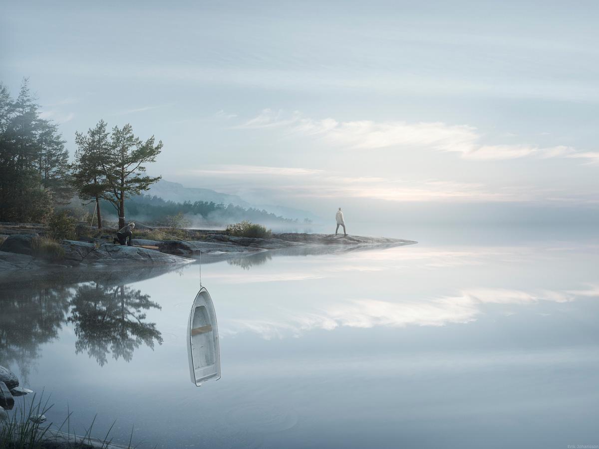 Erik Johansson Endless Reflections