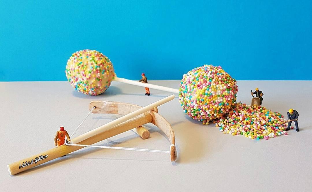 Matteo Stucchi Creates Miniature Worlds