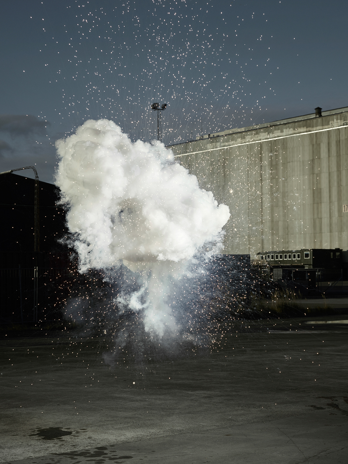 Photographic Series Explosion 2.0 from Ken Hermann