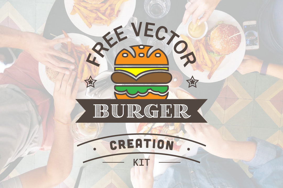 Free Vector Burger Creation Kit
