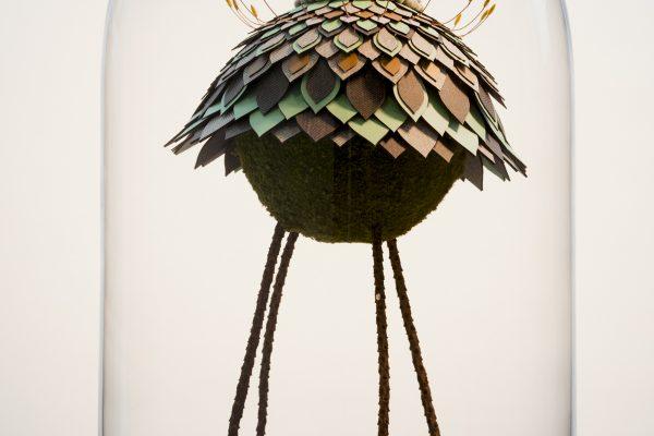 Mixed Media Floral Sculptures by Noreen Loh Hui Miun