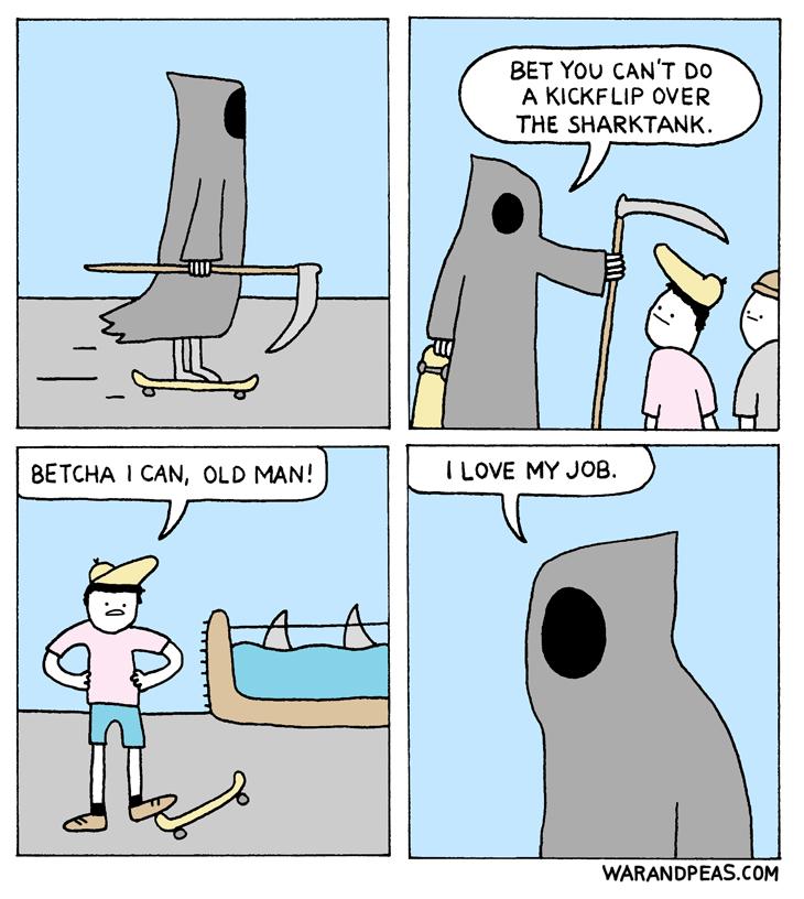 Hilarious Comics from War and Peas