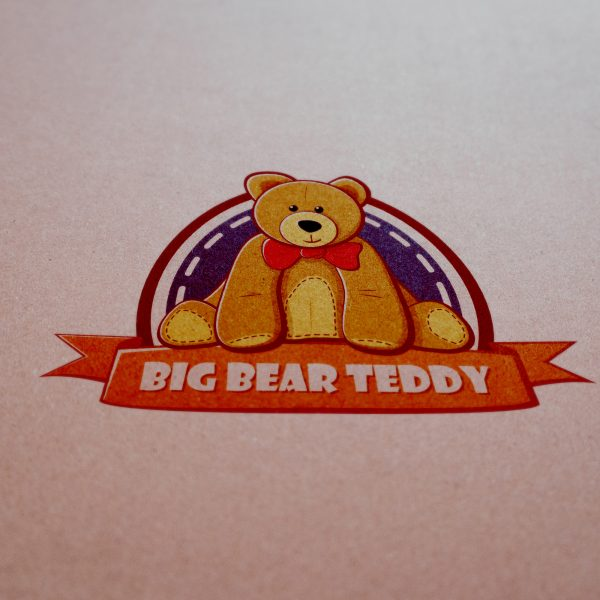 Logo Mockup - Big Bear Teddy